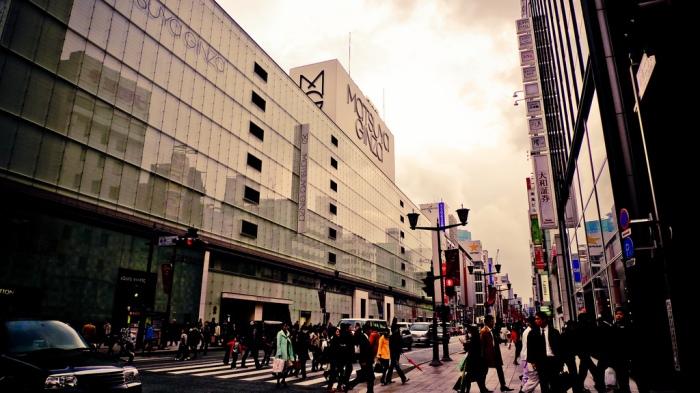 Matsuya Ginza, Tokyo Japan