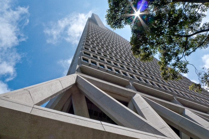 San Francisco Financial District, Panasonic Lumix DMC-LX3, ISO 80, 5.1mm f/5.6 1/500 Second