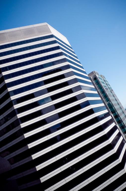 San Francisco Finacial District, Panasonic DMC-LX3 ISO80, 5.1mm f/8.0, 1/200 Second