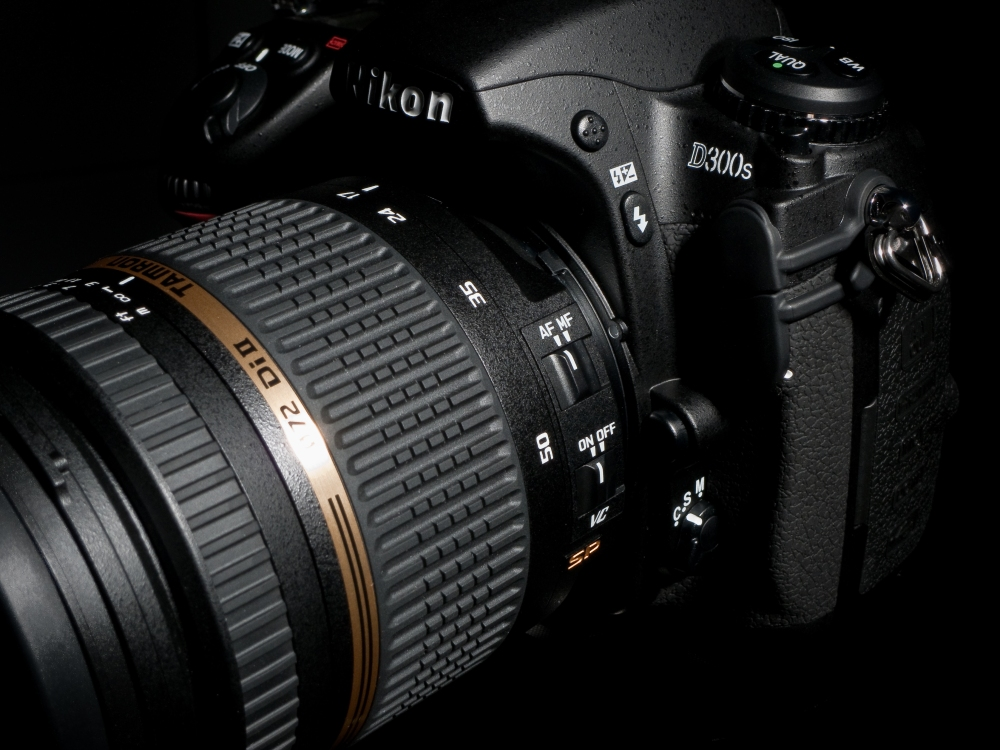 Tamron 17-50mm f/2.8 VC Mounted on my Nikon D300s