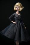 Delphine Silkstone Barbie wearing Midnight Mischief